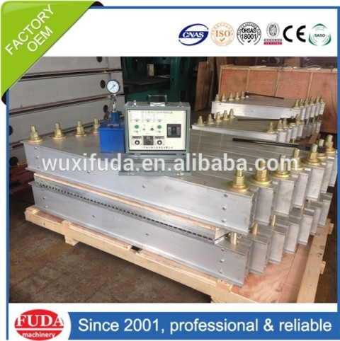 DRLQ-1000X670 high quality conveyor belt hot vulcanizing splicing machine