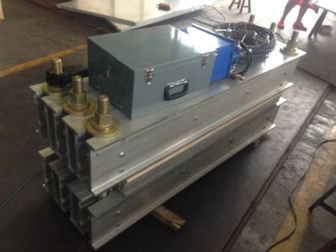 DRLQ-1200X500 high quality conveyor belt vulcanizing joint machine