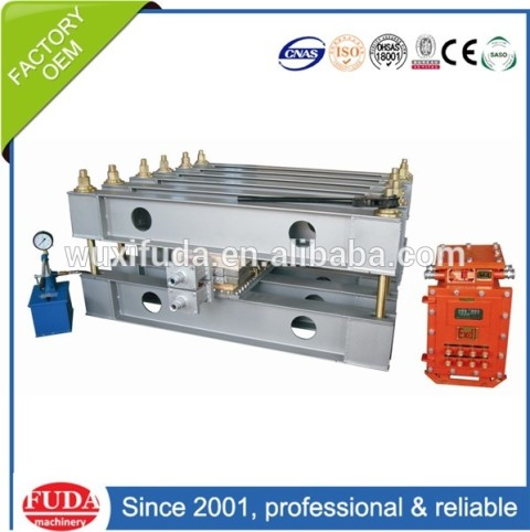 XBD-1500 factory direct sale high quality explosion-proof conveyor belt repair vulcanizing machine