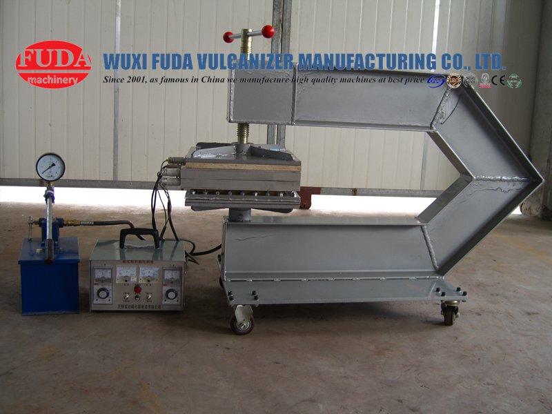rebuild-the-pressure-device-of-conveyor-belt-repair-vulcanizing-machine-2