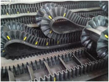 large-angle-conveyor-belt