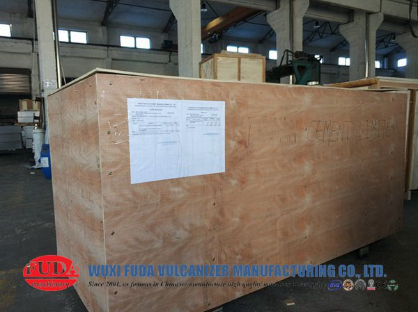 packing-of-conveyor-belt-vulcanizing-machine